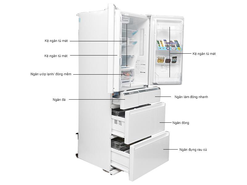 Tủ lạnh Panasonic NRF510GTX2