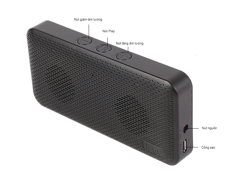 Loa Slim Portable Bluetooth Audmini