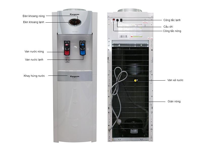Cây nước nóng lạnh Kangaroo KG-45