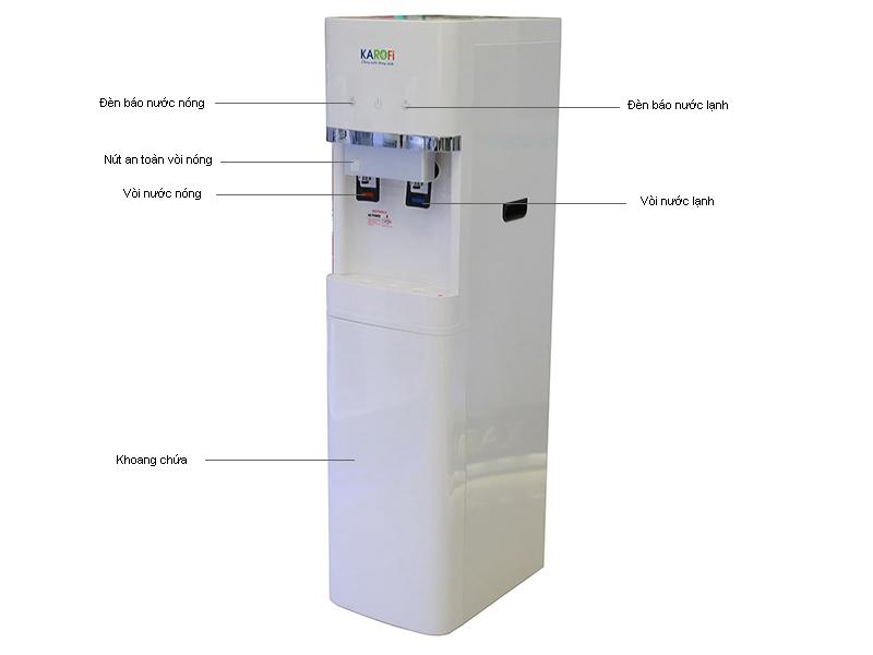 Cây nước có lọc nước KAROFI HC300WRO