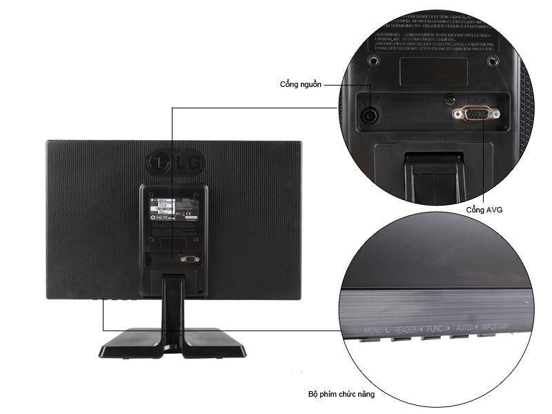 Màn hình máy tính LED LG 20M37A - 19.5 inch