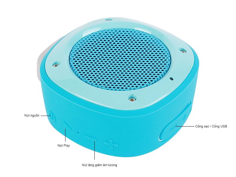 Loa Bluetooth Divoom Voombox Airbeat 10 -Đỏ