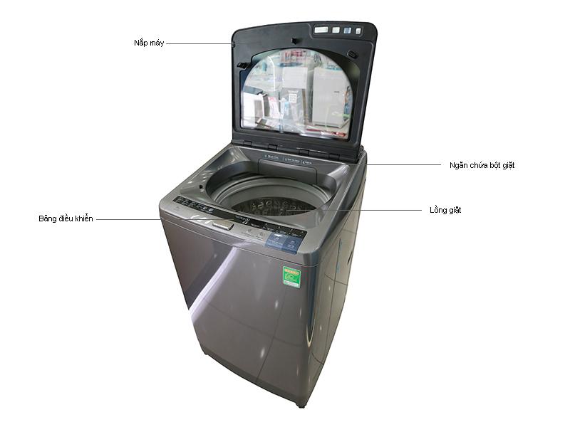 Máy giặt Hitachi SF-130XTVSL