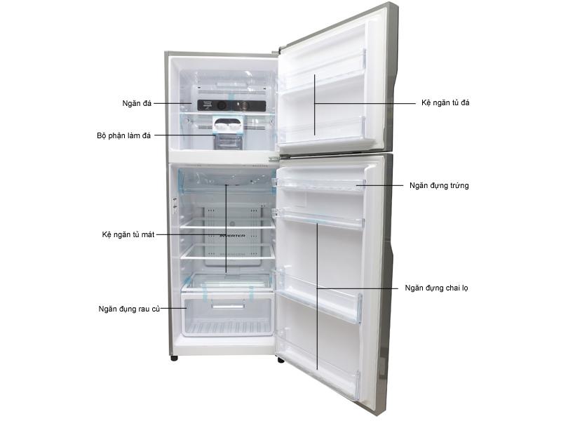 Tủ lạnh Hitachi R-V440PGV3INX