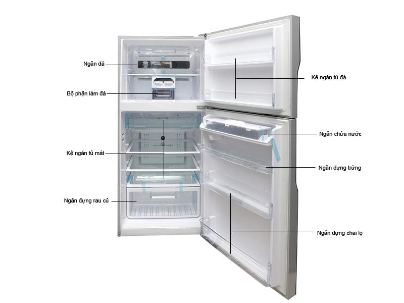 Tủ lạnh Hitachi R-V470PGV3DSLS