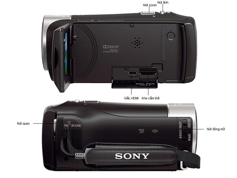 Máy quay Sony HDRCX405