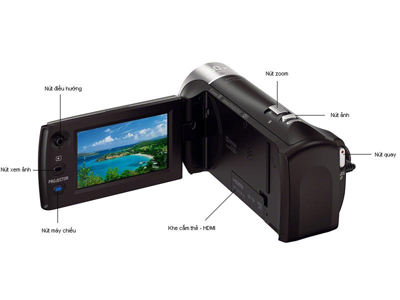 Máy quay Sony HDRPJ440