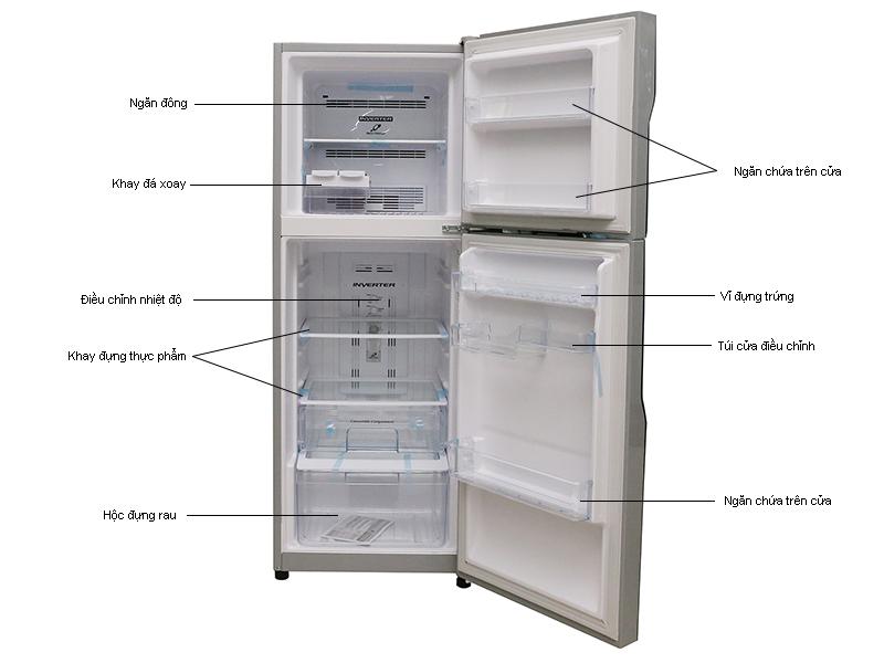 Tủ lạnh Hitachi RH200PGV4SLS - 200Ml