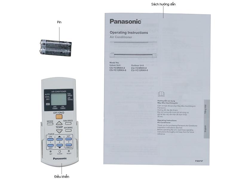 Điều hòa 1 chiều Panasonic CSS24RKH8