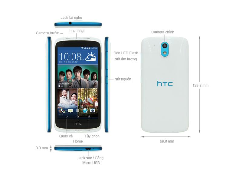 Điện Thoại HTC Desire 526G Dual Sim - Màu Đen