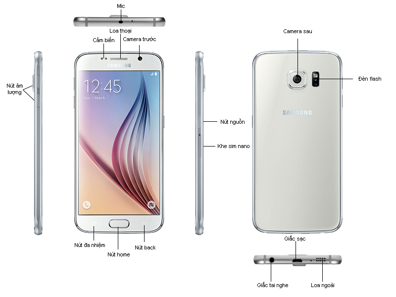 Samsung Galaxy S6 G920 - Đen