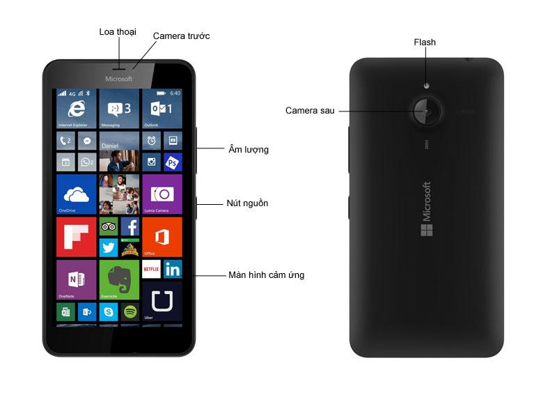Microsoft Lumia RM-1067 640XL - Xanh dương
