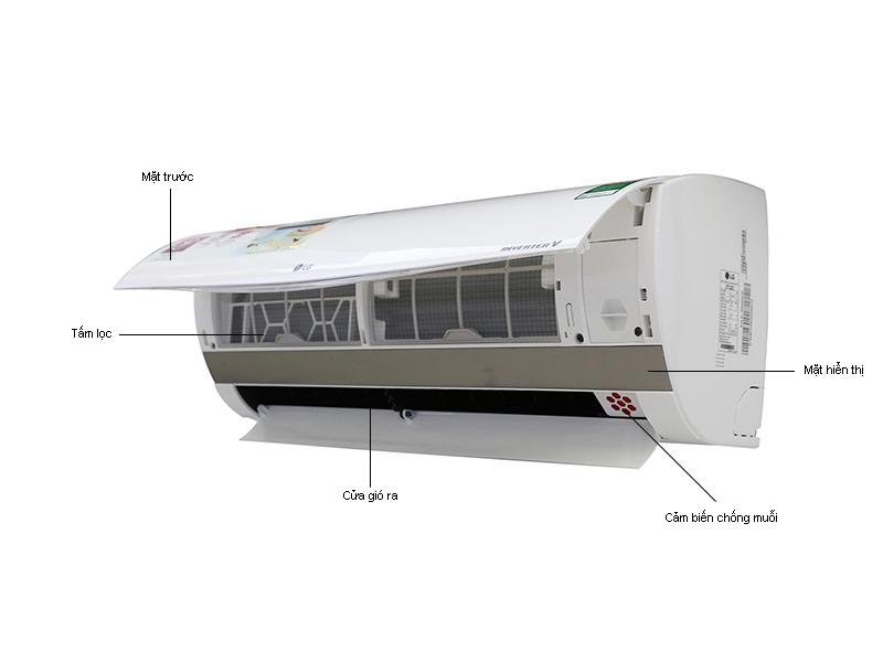 Điều hòa 1 chiều LG Inverter V13APMN