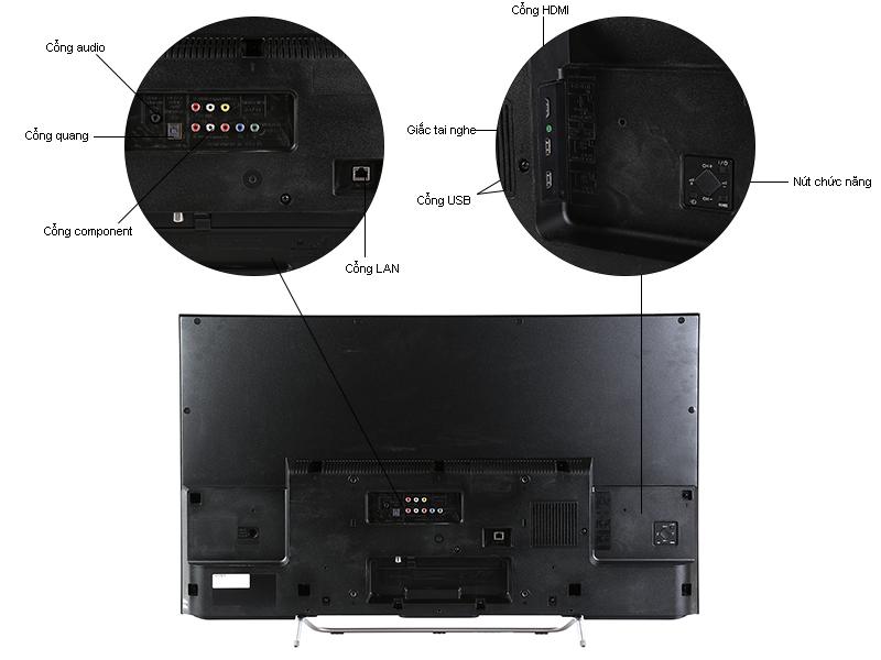 TIVI LED Sony KDL48W700C 48 inch