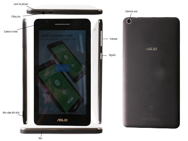 ASUS Fonepad 7 FE171CG-1B010A - Đen