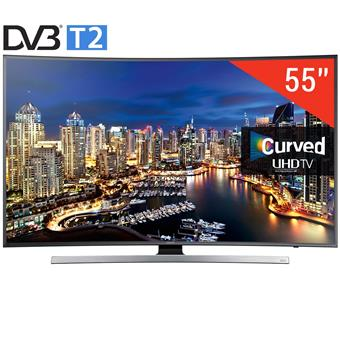 TIVI LED 3D Samsung UA55JU7500-55, Curved, 4K-Ultra HD, Tizen