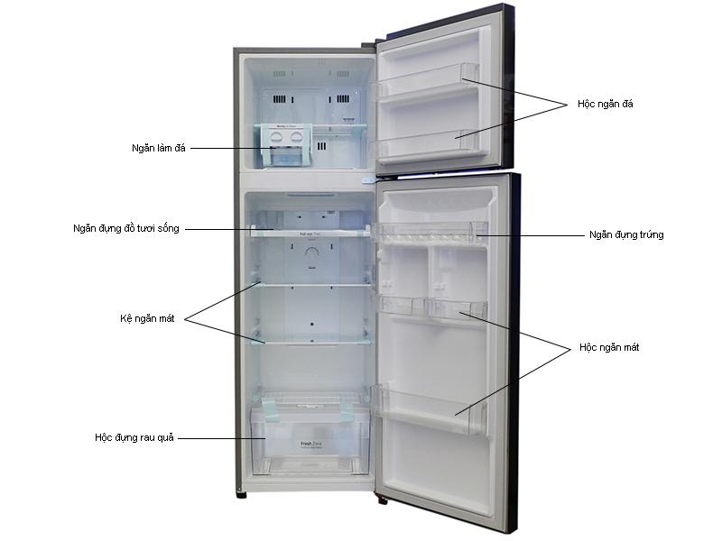 Tủ lạnh LG GRL333PS - 333L