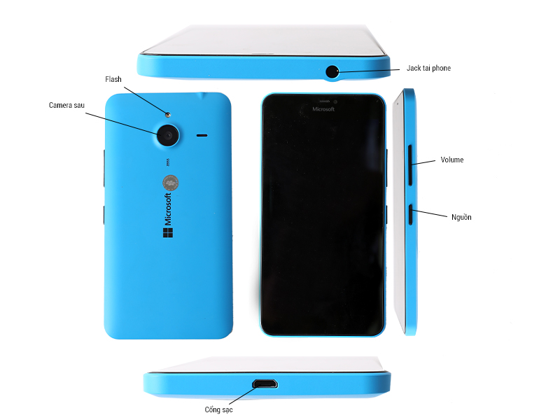 Điện thoại di động Microsoft Lumia 640  Trắng - RM-1077