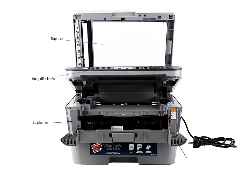 Máy in laser đa chức năng Brother MFC-L2701D