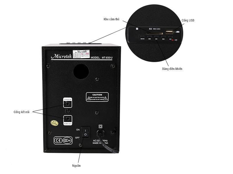 Loa Microtek MT-830U 2.1