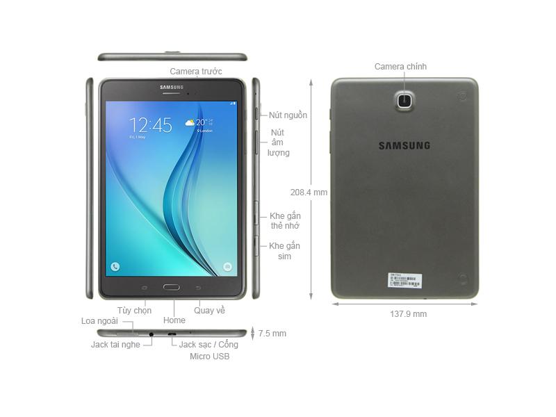 Samsung Galaxy Tab A 8.0 SM-P355 - Trắng