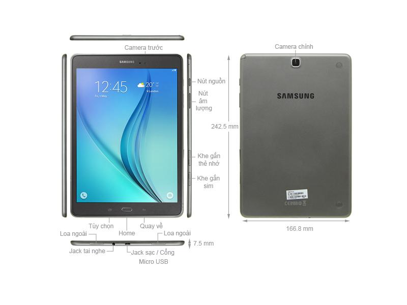 Samsung Galaxy Tab A 9.7 SM-P555 - Đen