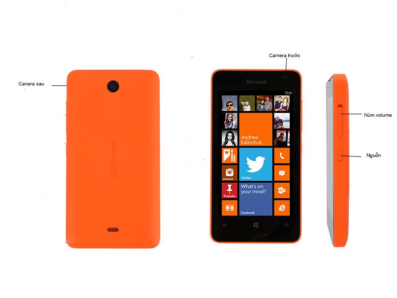 Microsoft Lumia 430 RM-1099 - Cam