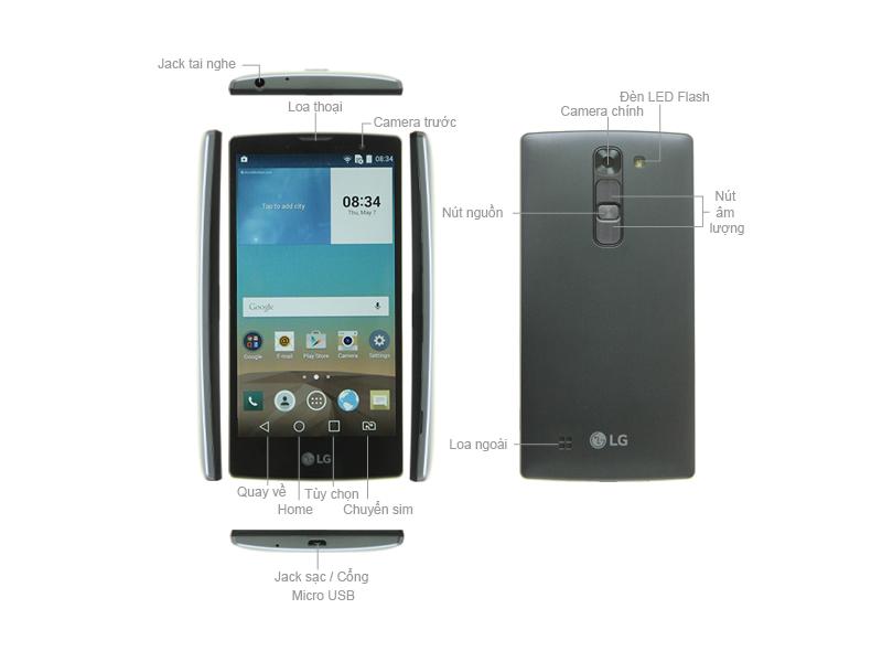 LG Magna H502F -Vàng