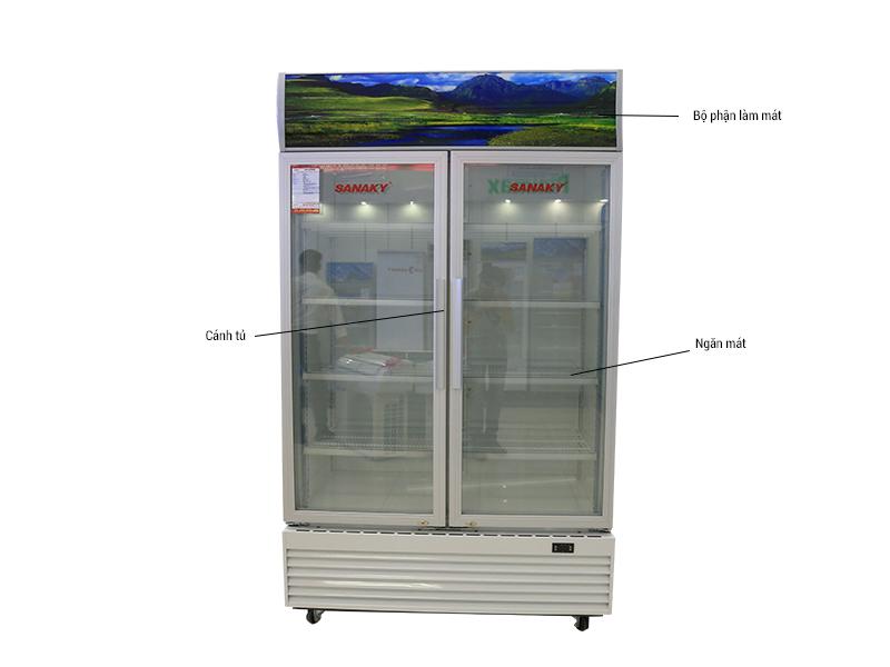 Tủ Mát Sanaky VH-1209HP 1200L