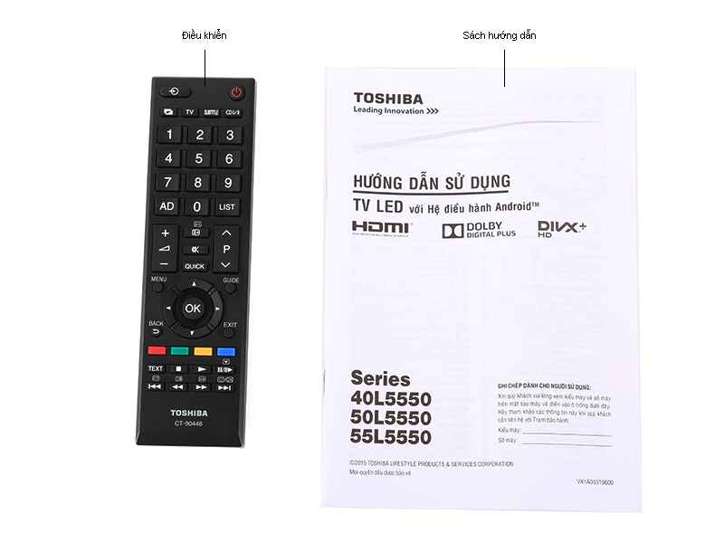 Smart Tivi LED Toshiba 55L5550 55 inch