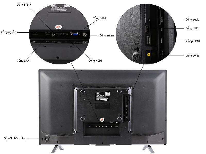 Tivi LED TCL 40D2780 40 inch