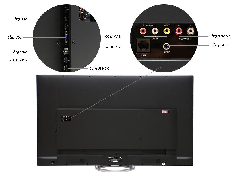 Tivi Led TCL 50E6800 50inch