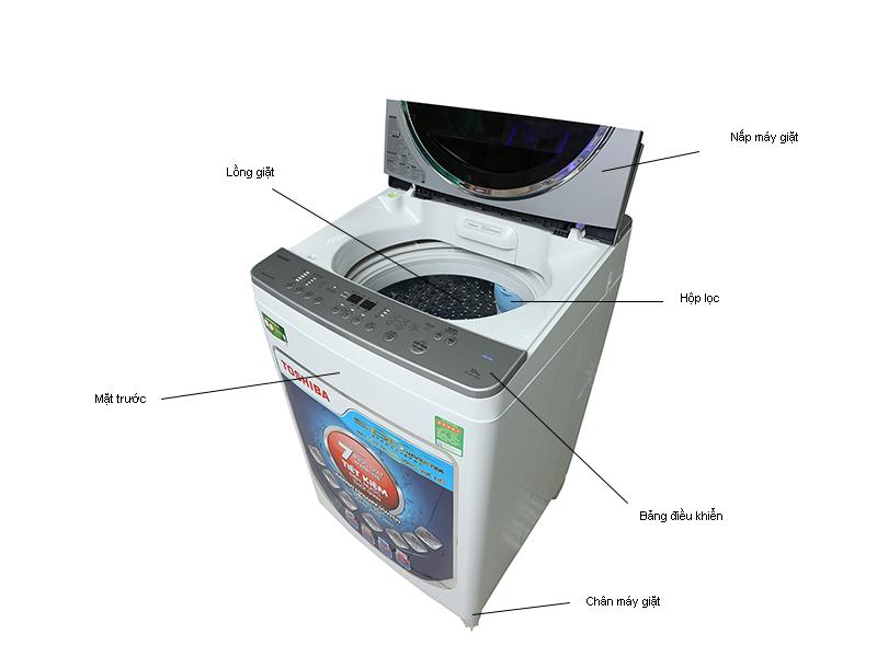 Máy Giặt Toshiba DE1100GVWS