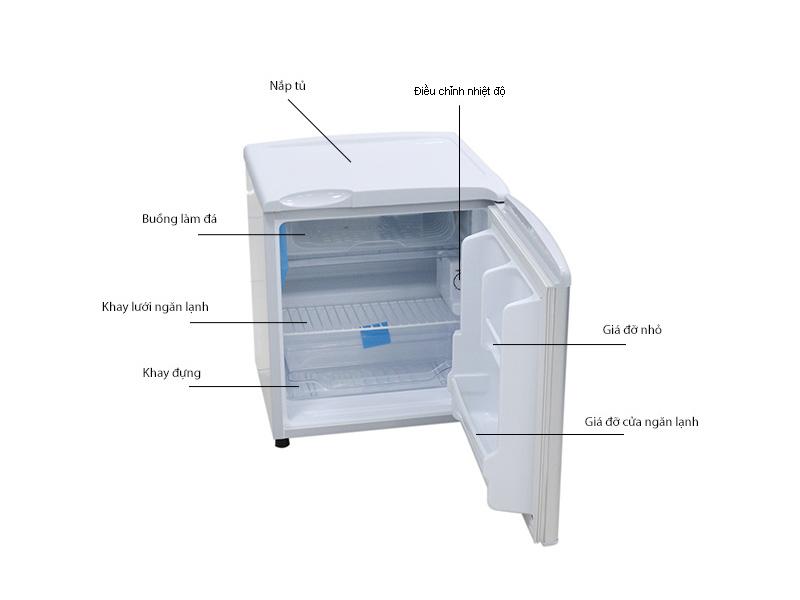 Tủ lạnh Aqua AQR55ARSG - 50L