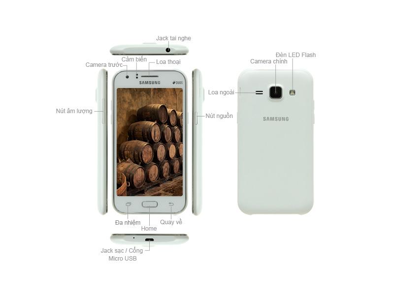 Samsung Galaxy J1 - Trắng