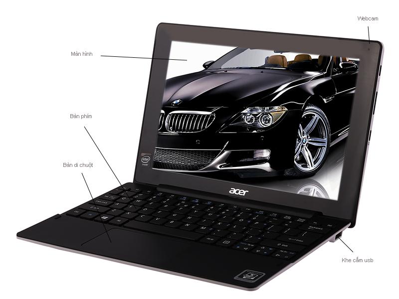 Acer AspireSwitch 10 SW3-013-13 - Trắng