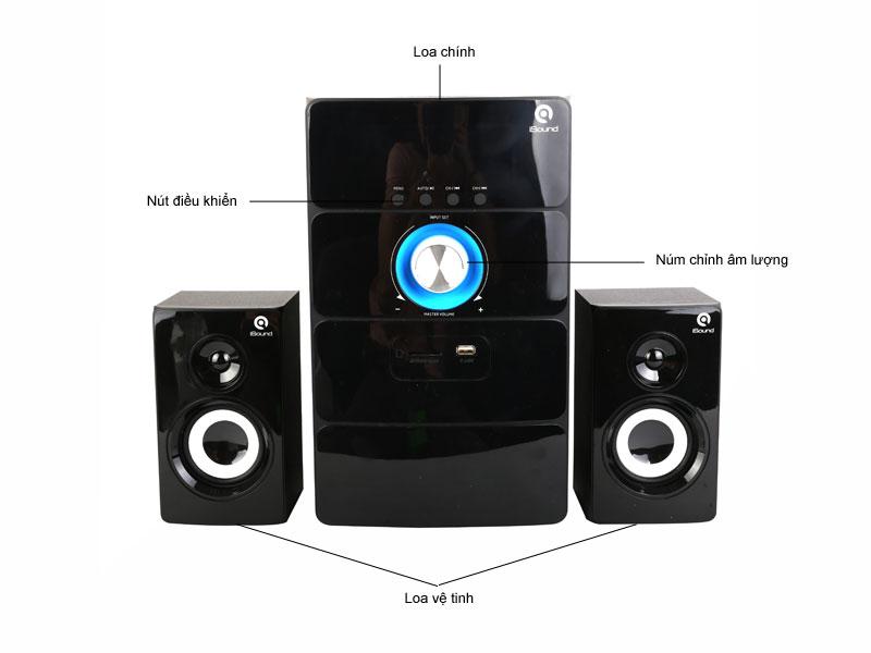 Loa Bluetooth iSound SP265B 2.1