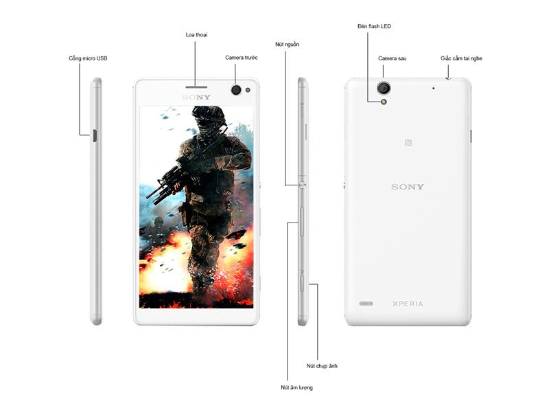 Sony Xperia C4 Dual - Xanh bạc hà
