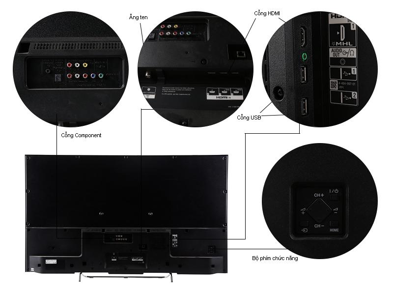Tivi LED 3D Sony KDL50W800C - 50 inch