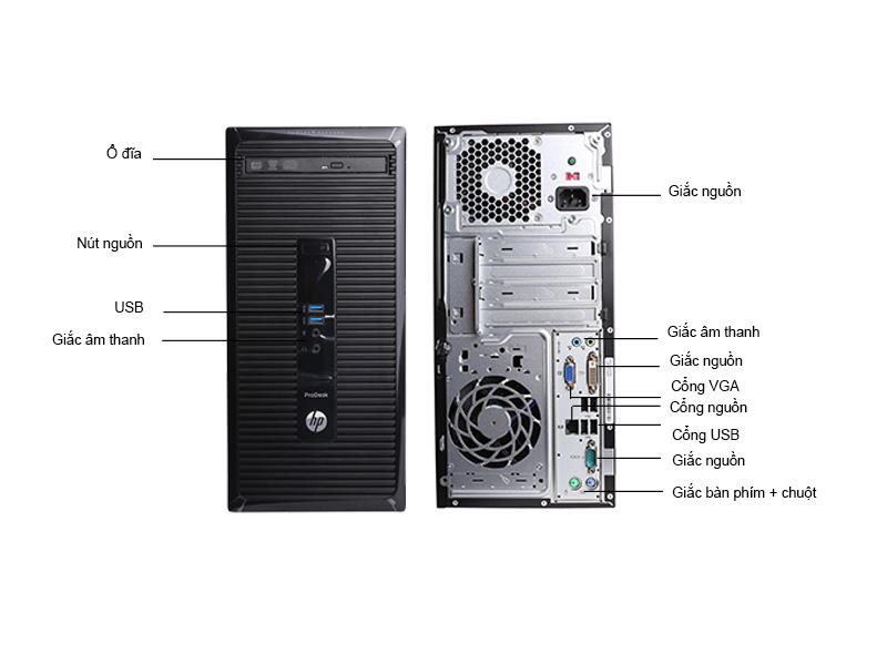 Máy tính để bàn HP ProDesk 400 G2 HP400G24160