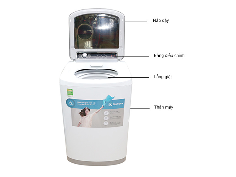 Máy giặt Electrolux EWT8541 - 8.5 kg