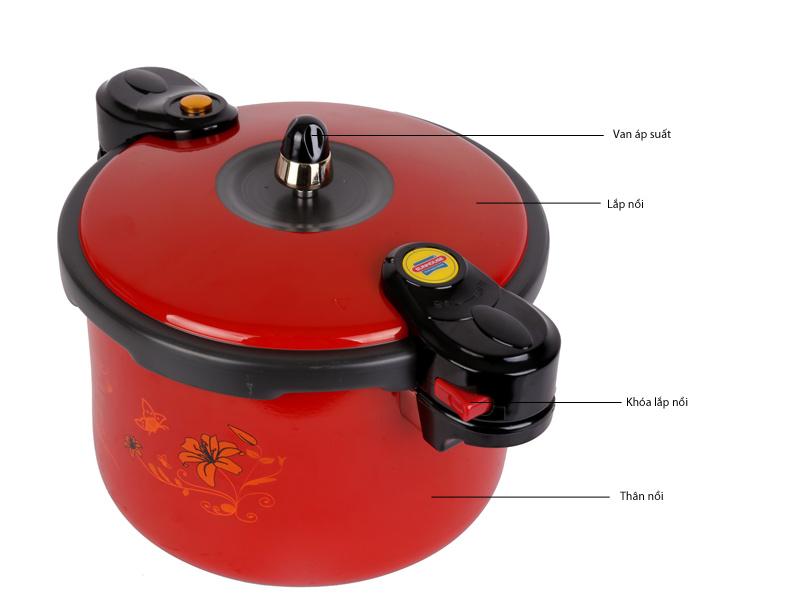 Nồi áp suất Livingcook LC601