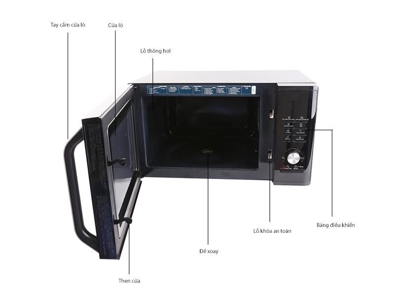 Lò Vi Sóng Samsung MG28J5255US/SV