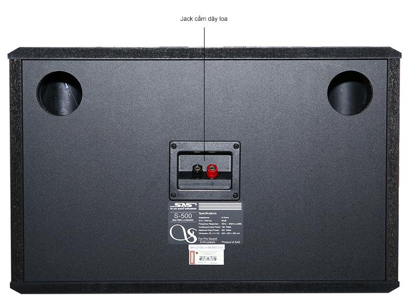 Loa Karaoke SAS S-500