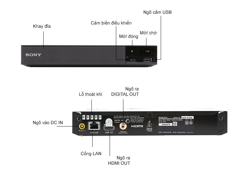 Đầu Blu-ray Sony BDP-S1500/BMSP6