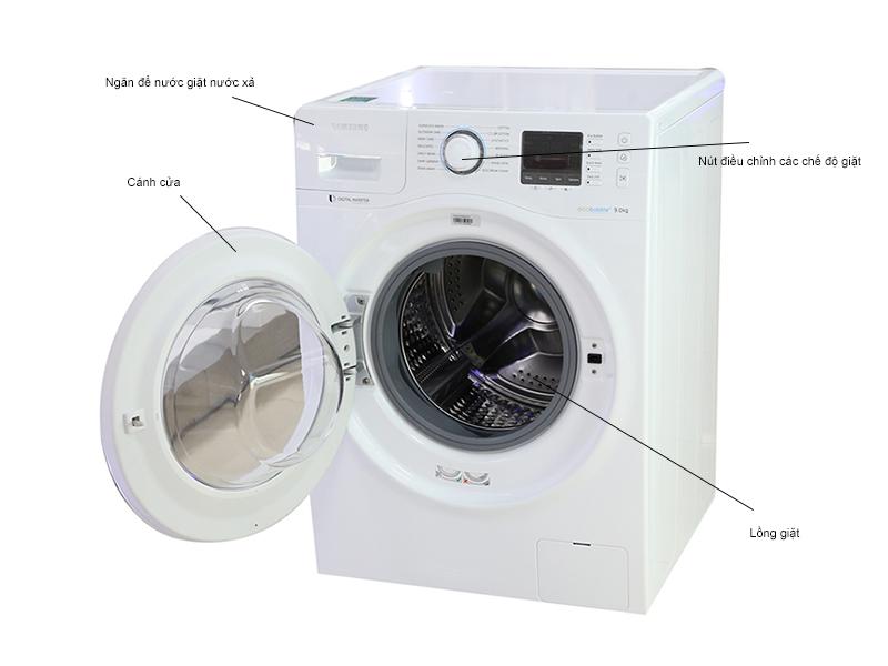 Máy giặt Samsung WW90H5400EWSV