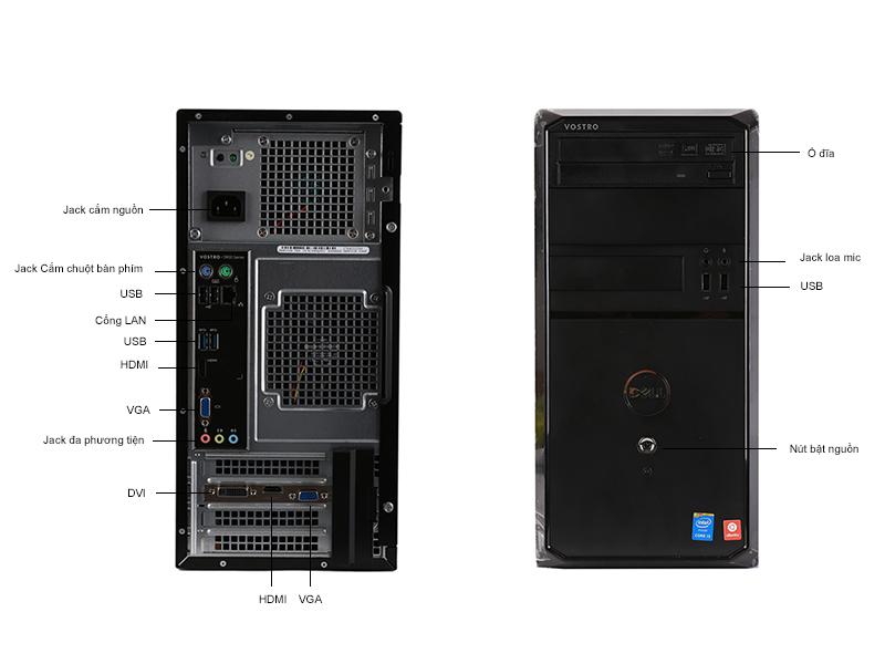 Máy tính để bàn Dell Vostro 3900MT 4170V2G