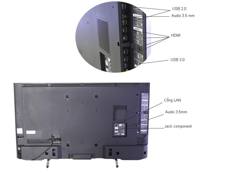 Tivi LED Sony KD43X8300C - 43 inch