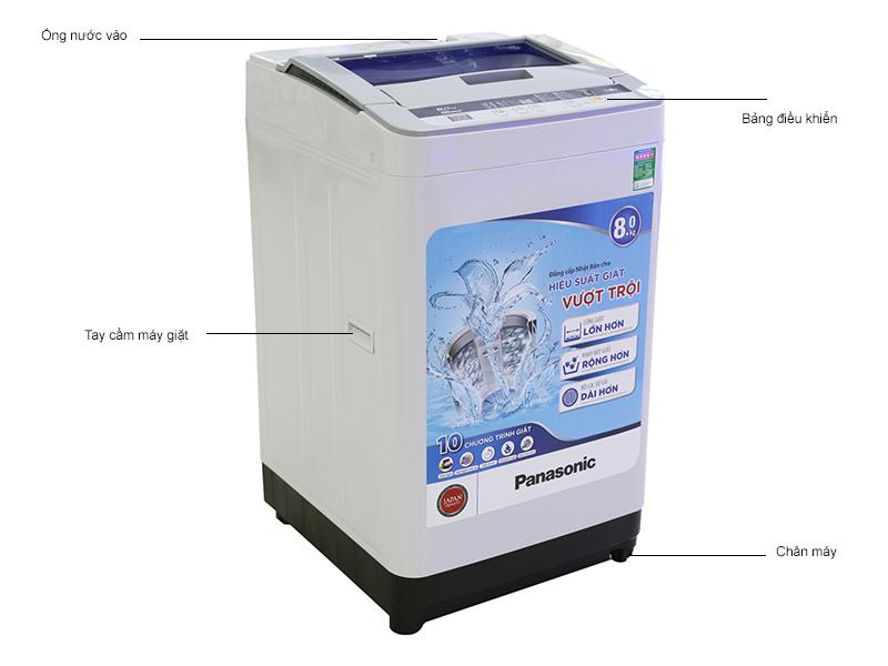 Máy giặt Panasonic NAF80VS8HRV