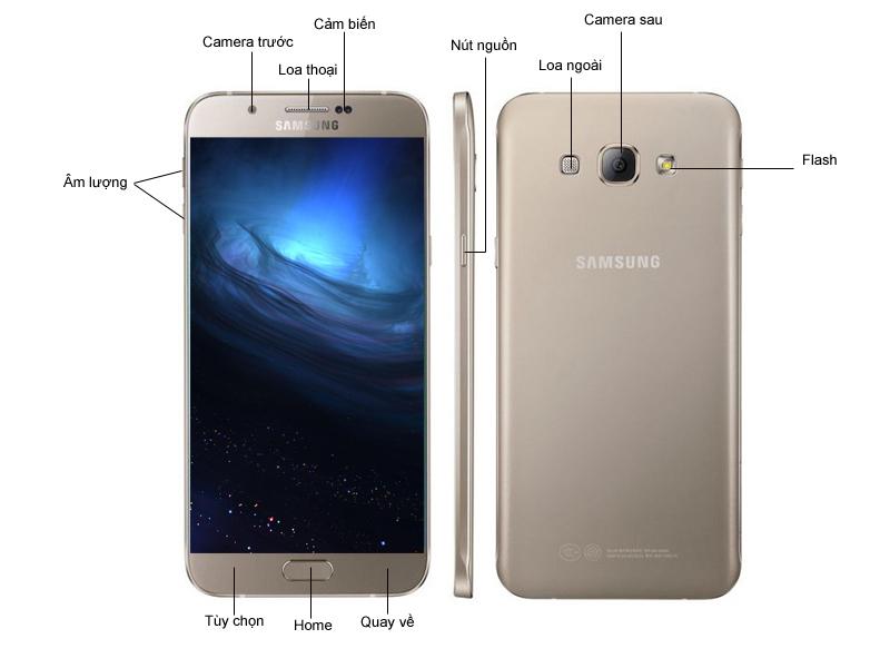Samsung Galaxy A8 A800 - Trắng
